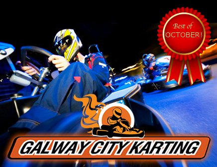 Best of October: Indoor Karting for Two People
