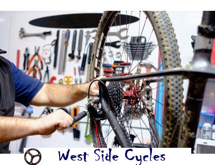 Complete Bicycle Service at West Side Cycles