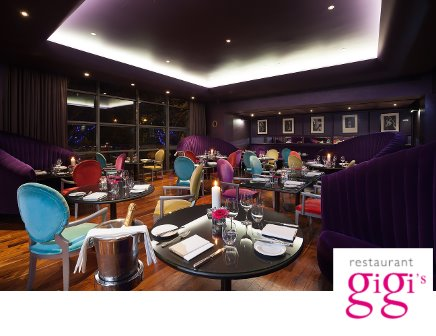 5 Course Dinner for Two with a glass of wine at the g Hotel