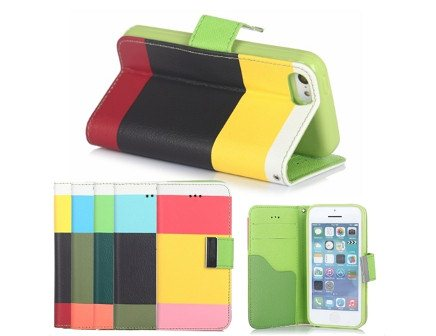 Triple Colour Smartphone Flip Case
