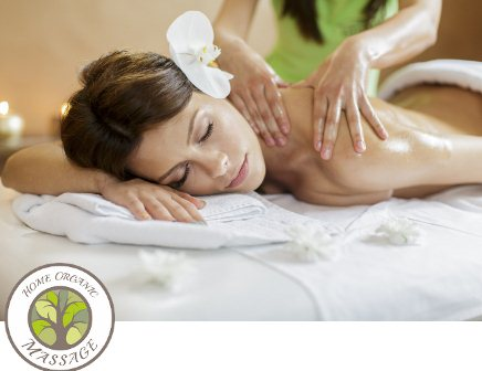 Aroma Fusion Massage: Back and Face massage