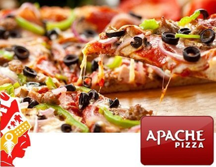 Apache Pizza Meal Offer for €15