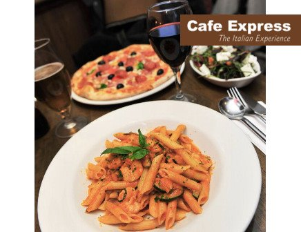 Pizza or Pasta Dish with Wine or Craft Beer for Two