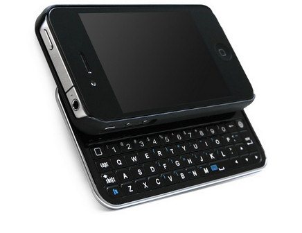 iPhone 4S Sliding Keyboard Case