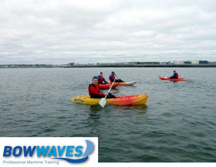 Kayaking for 2 or 4 people around Galway Bay