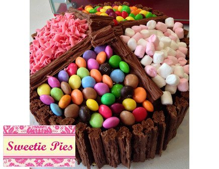 Sweetie Treat Birthday Cake